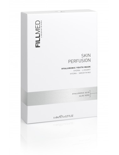 Fillmed Skin Perfusion Hyaluronic Youth Mask  - Boite de 4