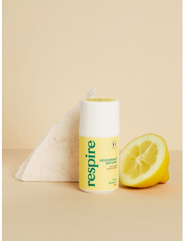 Respire Déodorant Roll On Citron Bergamotte 50ml