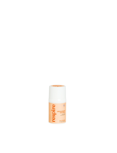 Respire Déodorant Roll On Fleur d'Oranger 15ml
