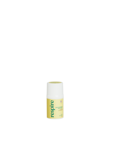 Respire Déodorant Roll On Citron Bergamotte 15ml