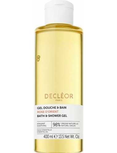 Decléor Gel Douche et Bain Rose d'Orient 400ml