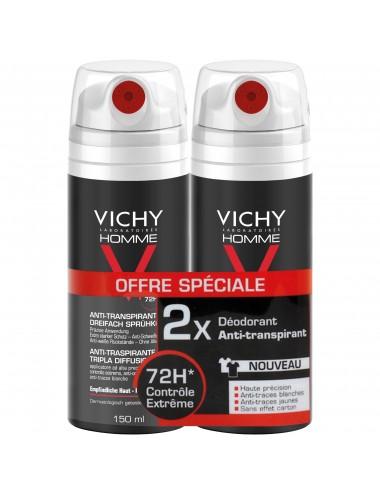 Vichy LOT*2 Homme Anti-transpirant triple diffusion
