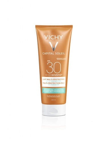 Vichy Capital Soleil Lait multi-protection SPF30 Tube 200ml