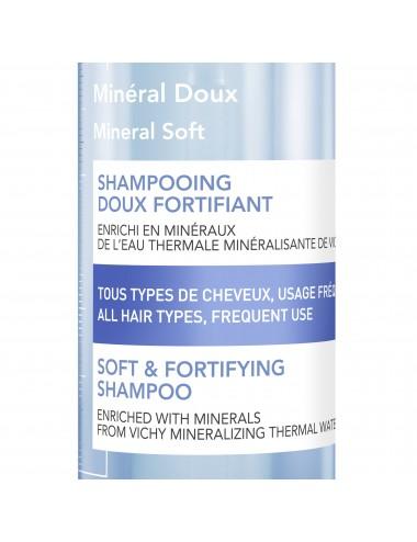 Vichy Dercos Technique LOT*2 Shampooing Mineral Doux 400ml