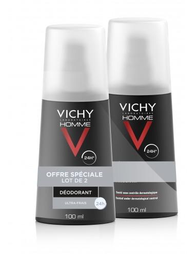 Vichy LOT*2 Déodorant Vaporisateur Ultra-Frais