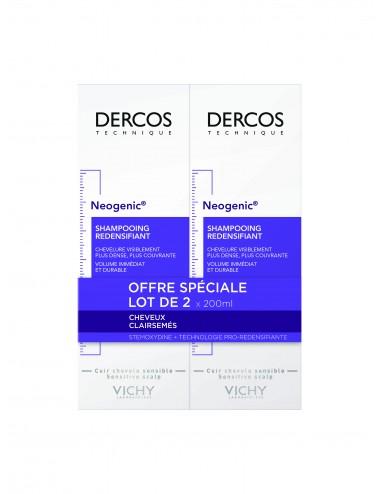 Vichy LOT*2 Dercos Technique Neogenic Shampooing Redensifiant Neogenic