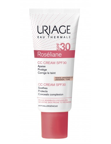 Uriage Roséliane - CC Cream SPF30 - Tube 40ml
