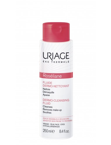 Uriage Roséliane - Fluide Dermo-Nettoyant - Flacon 250ml
