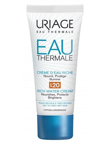 Uriage Eau Thermale - Crème d'Eau Riche SPF20 - 40 ml