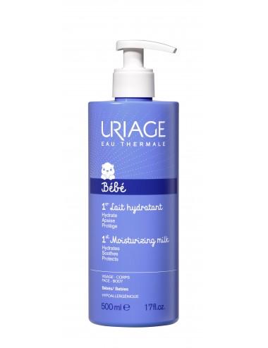 Uriage Bébé - 1er Lait Hydratant - Flacon pompe 500ml