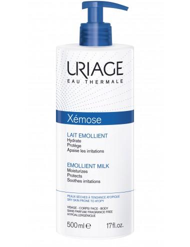 Uriage Xémose - Lait Émollient - Flacon pompe 500 ml