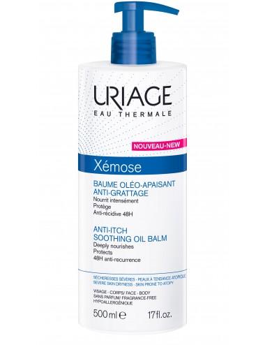 Uriage Xémose - Baume Oléo-Apaisant Anti-Grattage - Flacon-pompe 500ml