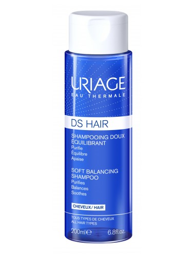 Uriage DS Hair - Shampooing Doux Équilibrant - Flacon 200ml