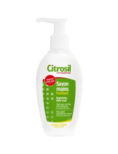 Citrosil Gel Savon Liquide Mains Assainissant Essence Citron 250ml