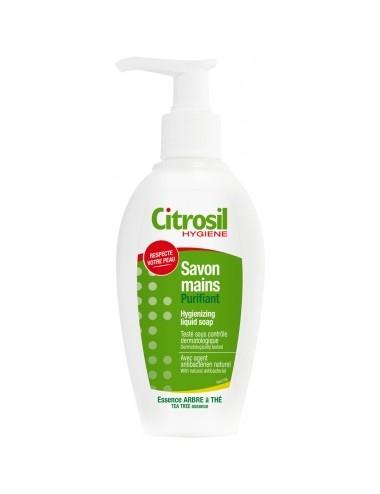 Citrosil Gel Savon Liquide Mains Assainissant Essence Arbre À Thé 250ml