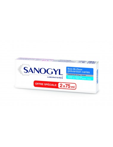 Sanogyl Bi Fluor Prevention Caries 75ml x 2