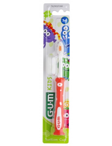 Gum Brosse à dents Kids Monster 3-6 ans