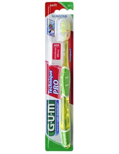 Gum Brosse à dents Technique Pro Souple Compacte