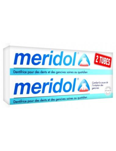 Méridol Lot Dentifrice Protection Gencives- 2x75ml