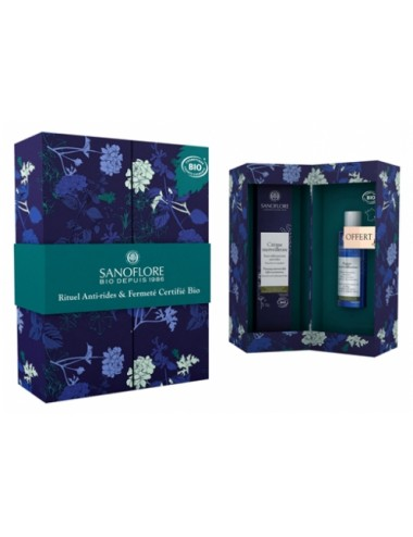 Sanoflore Coffret cadeau Crème merveilleuse 40ml + mini Aqua merveilleuse 50ml offerte Sanoflore