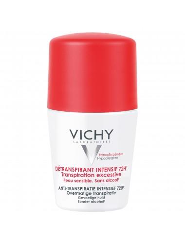 Vichy Détranspirant intensif 72h - Roll-on 50ml