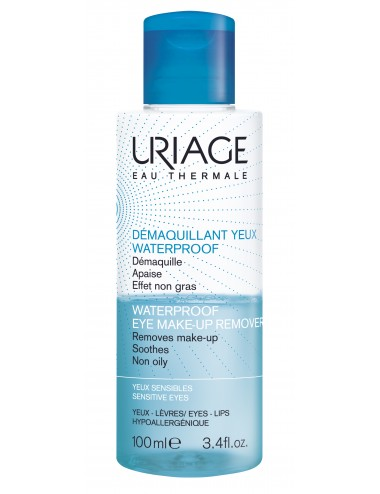 Uriage Démaquillant Yeux Waterproof - Flacon 100ml