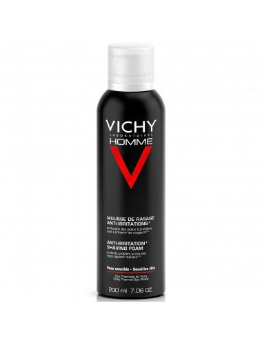 Vichy Homme Mousse à raser Anti-irritations