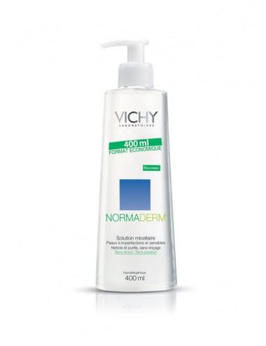 Vichy Pureté Thermale LOT*2 Solution micellaire démaquillante 3-en-1 400ml