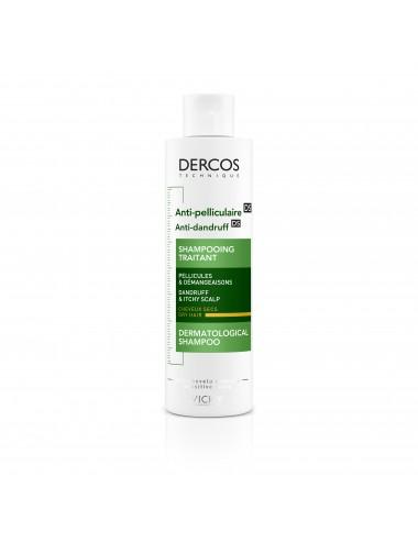 Vichy Dercos Technique Antipelliculaire DS Shampooing traitant pellicules & démangeaisons cheveux secs