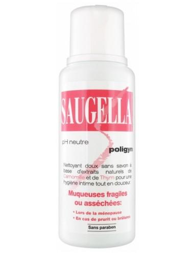 Saugella Poligyn Apaisant et Emollient Soin Lavant Intime 250 ml