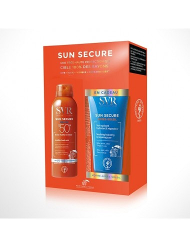 SVR Sun Secure Coffret Brume Fraîche Invisible SPF50+ 50ml + Après-Soleil 50ml Offert