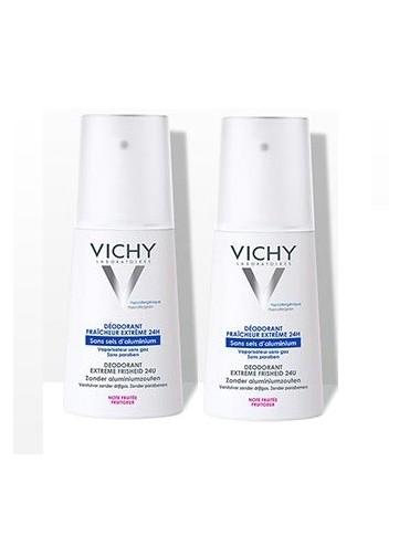 Vichy LOT*2 Déodorant vaporisateur Fruité 2 x 100 ml