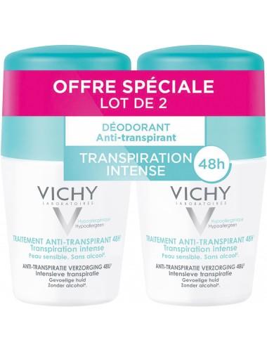 Vichy LOT*2 Anti-transpirant bille 2 x 50 ml
