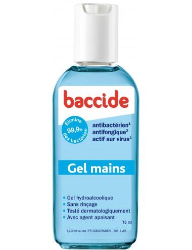Baccide Gel Hydro Alcoolique Bleu 75ml
