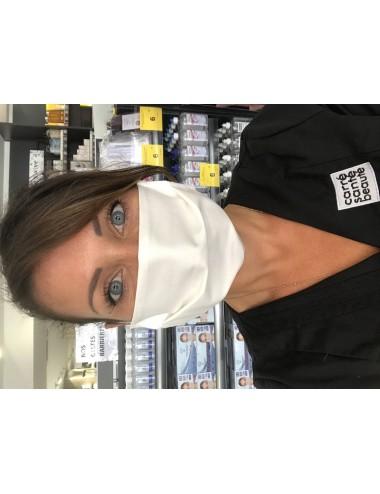 Masque Réutilisable Blanc- Lavable 30 fois