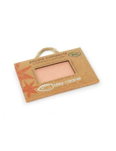 Couleur Caramel Recharge Poudre Compacte Bio N°03 Beige Halé 7G