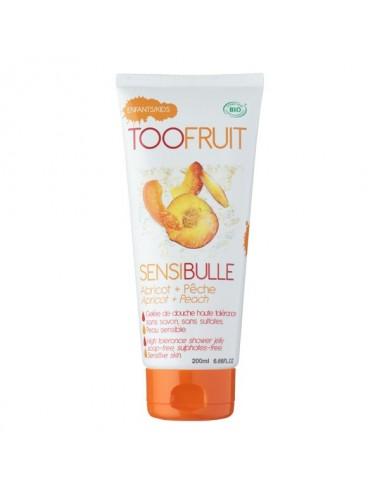 Toofruit Gelée de douche Sensibulle pêche abricot 400ml