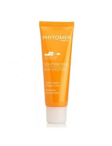 Phytomer Solution Soleil Crème Solaire SPF30 Visage et Corps 50ml