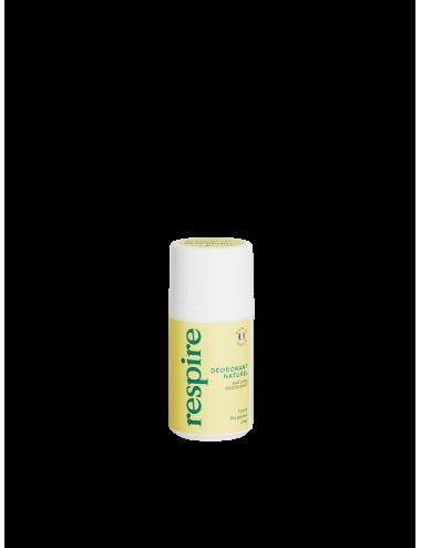 Respire Déodorant Roll On Citron Bergamotte 50ml