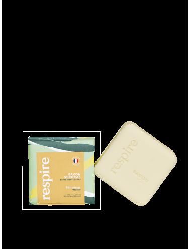 Respire Pain de savon naturel corps 100gr