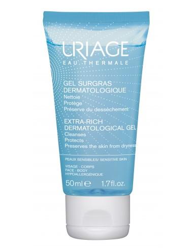Uriage Gel Surgras Liquide Dermatologique - Flacon 50ml