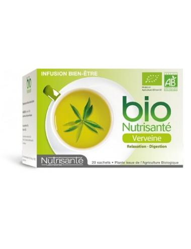 Nutrisante Infusion Bio Verveine 20 sachets
