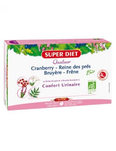 Super Diet quatuor bio confort urinaire 20 ampoules