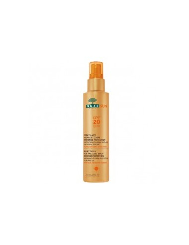 Nuxe Sun Spray Lacté Moyenne Protection SPF20 150ml