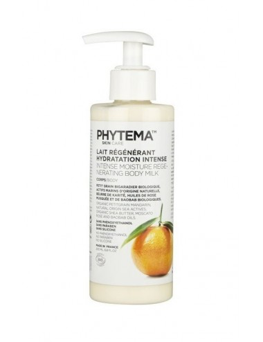Phytema Skin Care Lait Régénérant Hydratation Intense 200ml