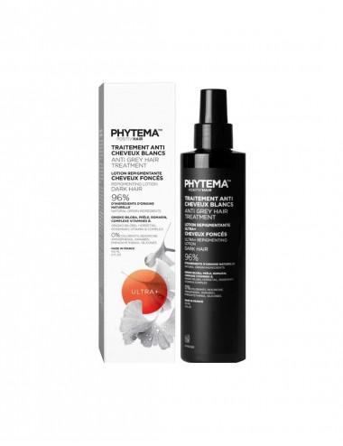 Phytema Positiv'hair Ultra plus Lotion anti cheveux blancs Cheuveux Foncés 150mL