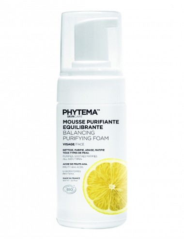 Phytema Skin Care Mousse Purifiante Équilibrante 100ml