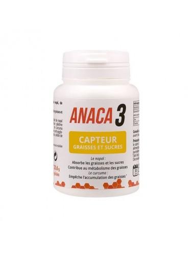 Anaca 3 Capteur Graisses et Sucres 60 Gélules