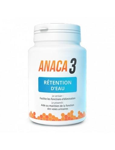 Anaca 3 Retention d'eau 60 Gélules