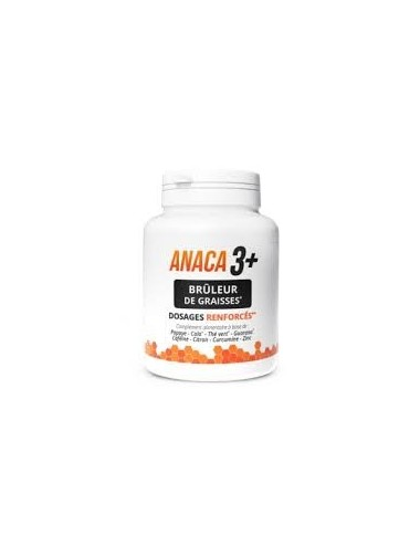 Anaca3 + Brûleur de Graisses Dosages Renforcés 120 Gélules
